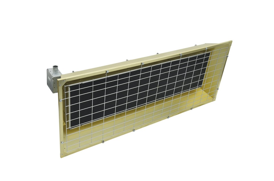 Item Fss 9527 1 Fostoria Infrared Flat Panel Emitter On